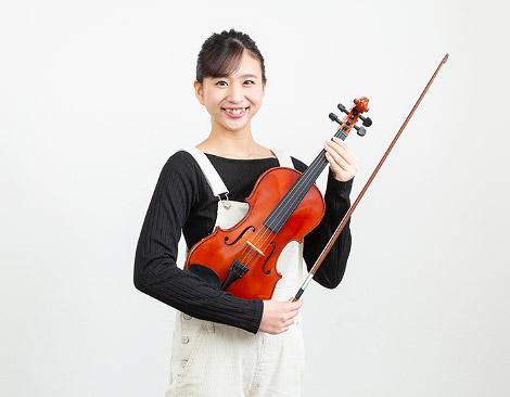 一本でさまざまな情景を想像させる<br /> 多彩な表現力が、バイオリンの魅力です。